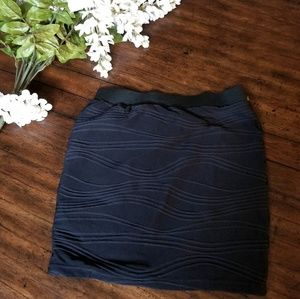 Candie's Black Bodycon Mini Skirt size XS